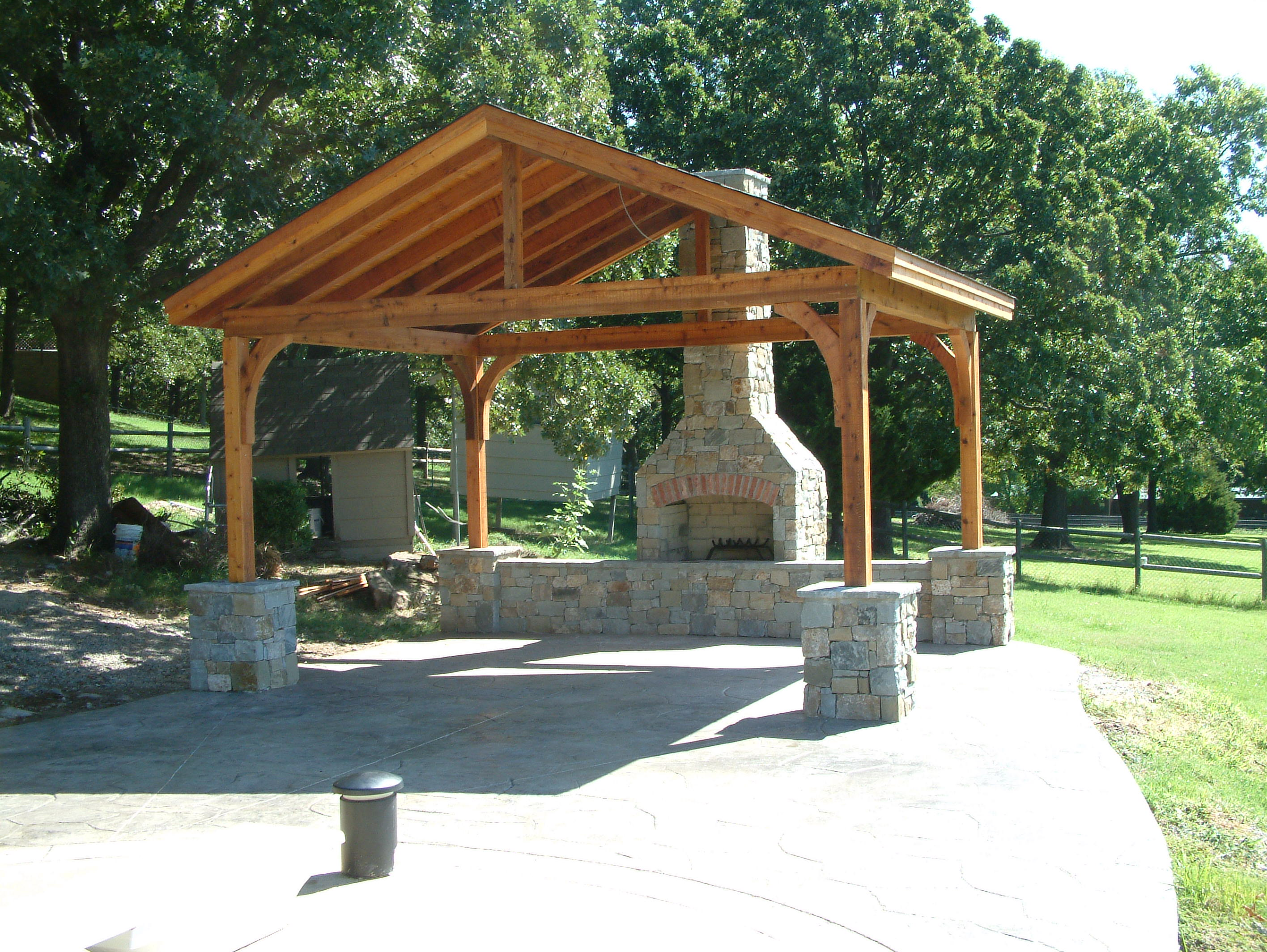 Covered Patios And Pavilions